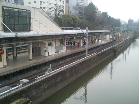 Ichigaya_Station_and_Moat